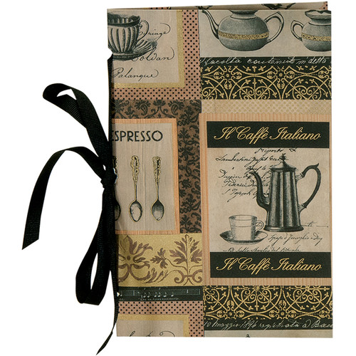 "Lineco Tibetan Books Kit (Set of 2, Caffe Italiano Cover, 4.25 x 6.5"" & 5 x 7.5"")"