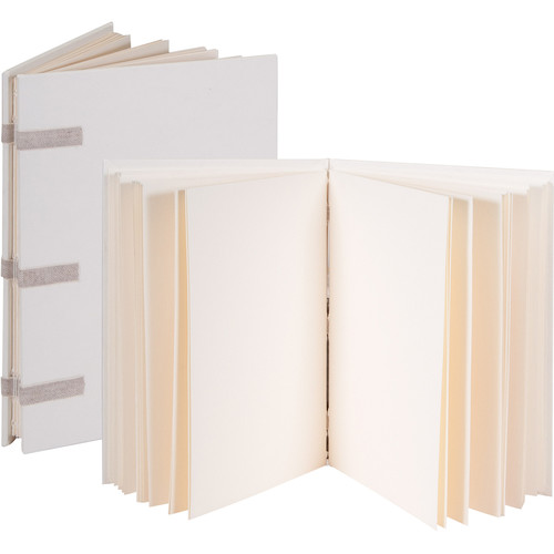 "Lineco Linen Tape Journal Kit with Ivory Pages (Blank Cover, 5 x 7"")"