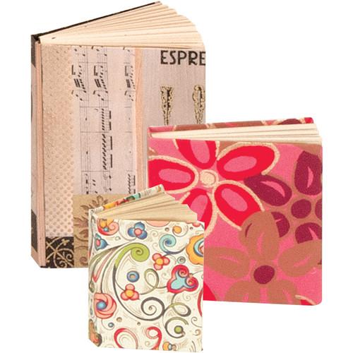 "Lineco Mini 3-Book Kit (1.5 x 2"", 2.5 x 2.5"", 2.5 x 3.75"")"