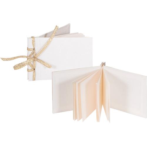 Lineco Mini Kit Ribbon Bound Album (Blank Paper, Pack of 3)
