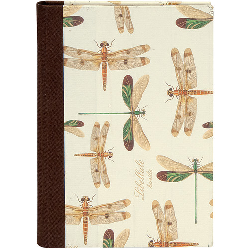 Lineco Address Book Kit with Printed Tabbed Index (Dragonflies Cover)