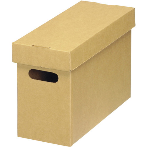 Lineco Ready-To-Assemble Corrugated Bulk Storage Cartons (Tan/Kraft, 5-Pack)