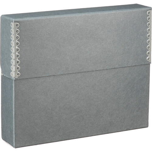 Lineco Letter Archival Document Storage Case (Blue/Gray)