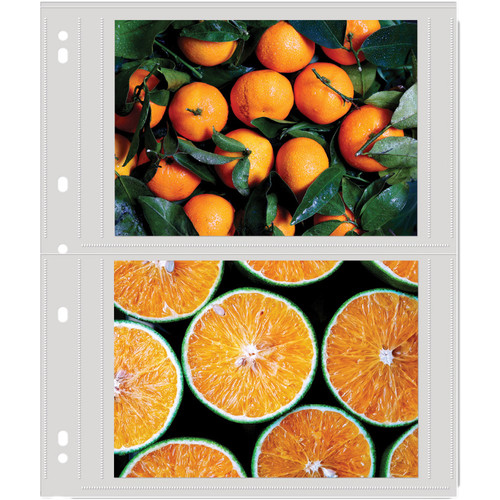 """Lineco Polypropylene Photo Album Pages (5 x 7"""", 100-Pack)"""