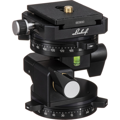 Linhof 3D Leveling Head II with Dovetail Track