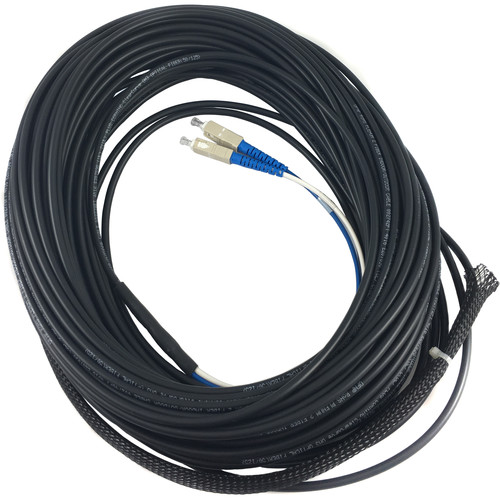 Link Bridge 1-Strand Jacket OM3 50um Multimode Tactical Fiber Cable (100')