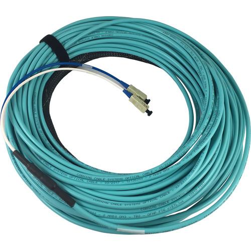 Link Bridge 2-Strand Jacket 50um Multimode Fiber Cable (Plenum, 150')