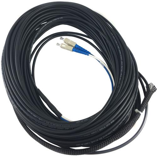 Link Bridge 2-Strand Jacket OM3 50um Multimode Tactical Fiber Cable (100')