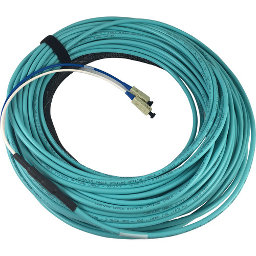 Link Bridge 6-Strand Jacket 50um Multimode Fiber Cable (Plenum, 100')