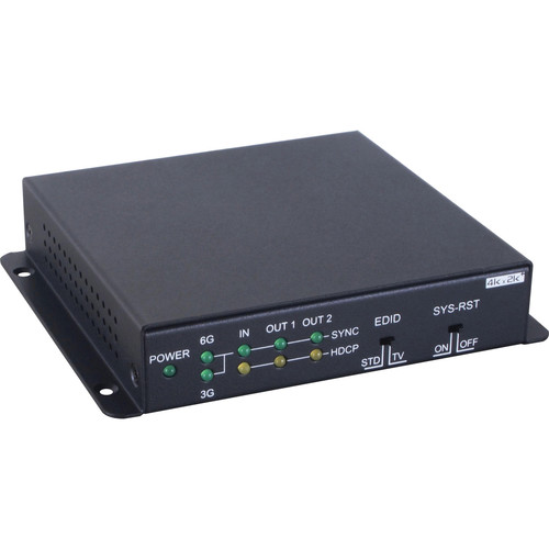 Link Bridge 1x2 HDMI 2.0 Splitter with HDCP 2.2