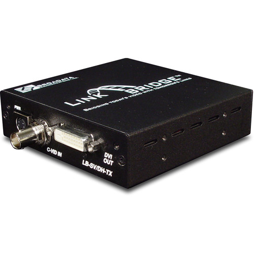 Link Bridge Single S-Video/Composite Video to DVI Converter