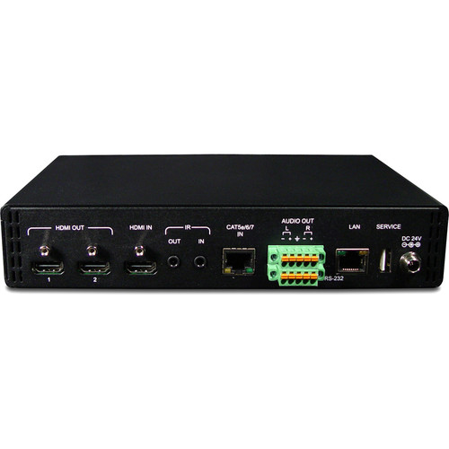 Link Bridge HDBaseT Receiver and Scaler (Up to 4Kx2K Resolution)