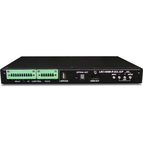 Link Bridge LBC-H-R-SCL-ICP HDBaseT Receiver/Scaler with ICP (1920 x 1200, 60 Hz)