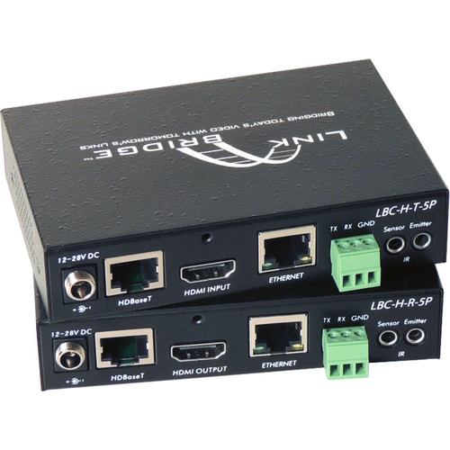 Link Bridge HDBaseT HDMI 5-Play Bidirectional Transmitter/Receiver (328')