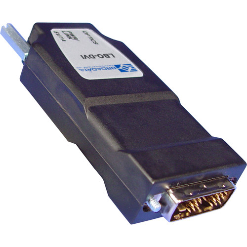Link Bridge DVI over Multi-Mode SC 1-Fiber Receiver in Metal Case (USB Powered, 1312')