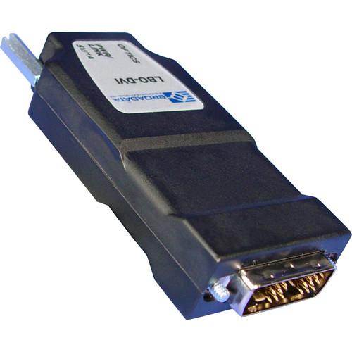 Link Bridge DVI Video Transmitter/Receiver Set (MMF-SC, 1-Fiber, Video Only, Metal Case)
