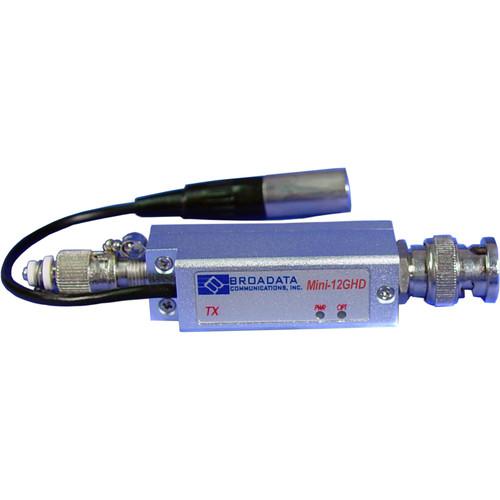 Link Bridge Mini 12G-SDI Video Transmitter over Single/Multi-Mode ST One-Fiber Connection