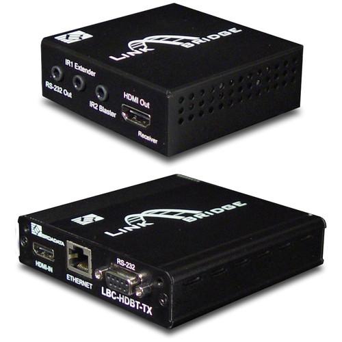 Link Bridge 3Play HDBaseT Lite HDMI Transmitter & HDBaseT Lite HDMI Receiver Kit (197')