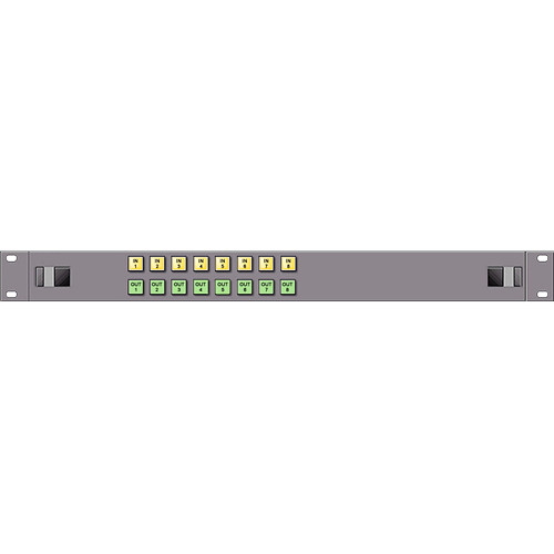 Link Electronics 1 RU 8x8 AFV X-Y Control Panel