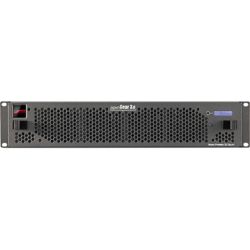 Link Electronics OG3-FR-CNS openGear 3.0 Frame with Cooling, GigE Network Control, & SNMP