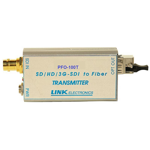 Link Electronics Fiber Optic 3G/HD/SD-SDI Transmitter (24.9 Miles)