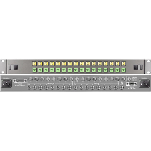 Link Electronics 16 x 16 Analog Video Routing Switcher