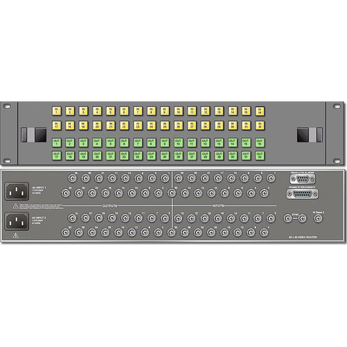 Link Electronics 32 x 32 Analog Video Routing Switcher