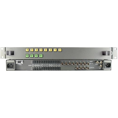 Link Electronics 8 x 4 HD/SDI Video Routing Switcher