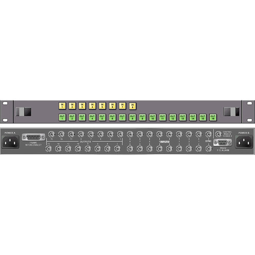 Link Electronics 8 x 16 Analog Video Routing Switcher
