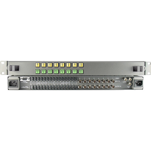 Link Electronics 8 x 8 HD/SDI Video Routing Switcher