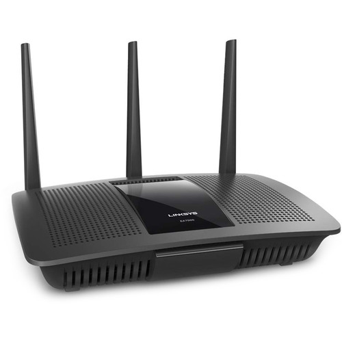 Linksys EA7500 Max-Stream Dual-Band Wireless-AC1900 Gigabit Router Kit with MAX STREAM Dual-Band Range Extender