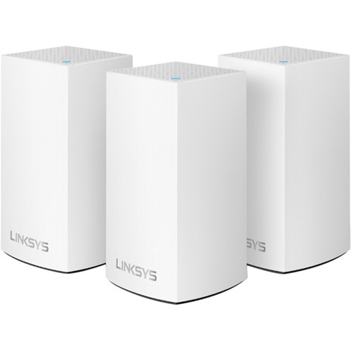 Linksys Velop Wireless AC-3900 Dual-Band Whole Home Mesh Wi-Fi System (3 Units)