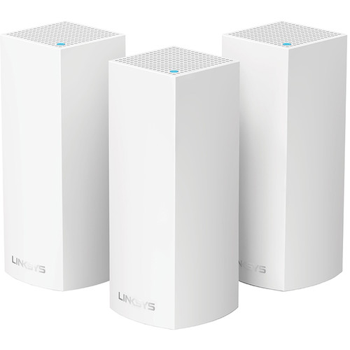 Linksys Velop Wireless AC-6600 Tri-Band Whole Home Mesh Wi-Fi System (3 Units)