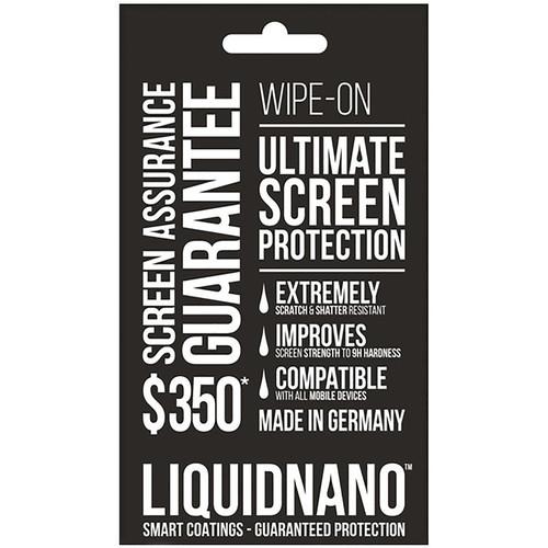LiquidNano LIQUIDNANO Ultimate Screen Protector for Smartphones with $350 Assurance