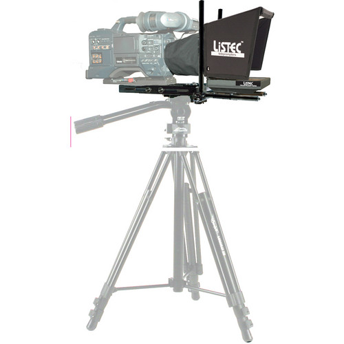 "Listec Teleprompters EN-08C Lightweight Entree 8"" On-Camera Teleprompter with Case"