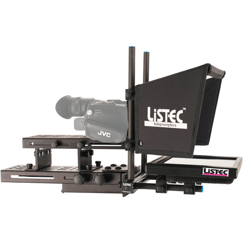 "Listec Teleprompters Entree Series 10"" On-Camera Teleprompter with Case"