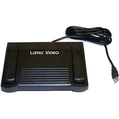 Listec Teleprompters LVC-EZFP Foot Pedal Controller