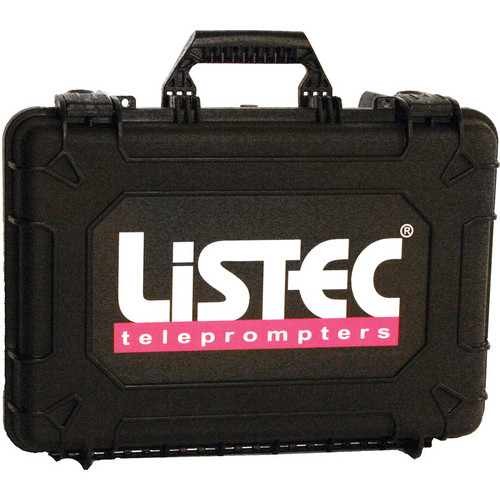 Listec Teleprompters Hard Carry Case for PW-10 Series Teleprompters
