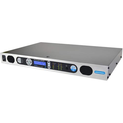 Listen Technologies D Series Multiloop Driver (7 Amps x 2) - Dante