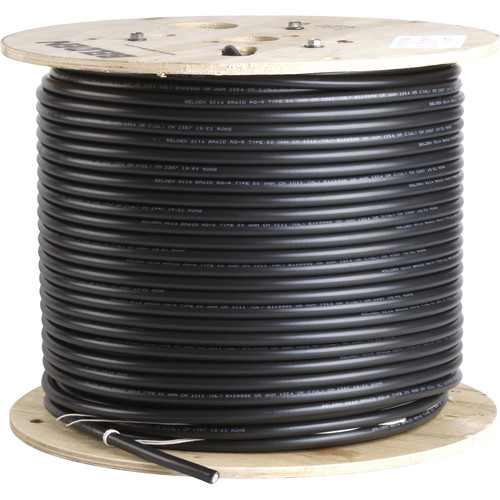 Listen Technologies LA-113 RG-8 Low-Loss Coaxial Cable - Per Linear Foot (50 ohm per ft.)