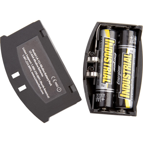 Listen Technologies LA-152 IR Alkaline Battery Compartment (Non-Charging)