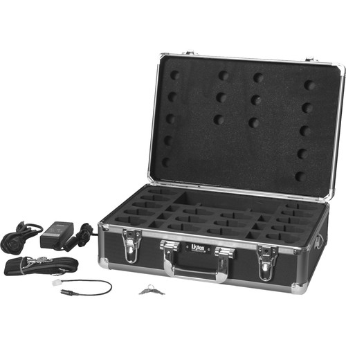 Listen Technologies LA-311-01 16-Unit Portable RF Product Charging/Carrying Case (Gray)