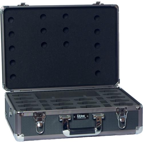 Listen Technologies LA-313 16-Unit Portable RF Product Carrying Case (Gray)