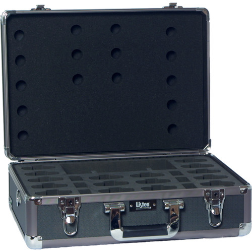 Listen Technologies LA-313 16-Unit Portable RF Product Carrying Case (Gray)