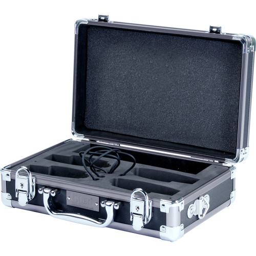 Listen Technologies LA-317 4-Unit Charging/Carrying Case for ListenRF Portable Receivers & Transmitters (Gray)