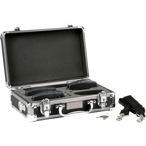 Listen Technologies LA-318 4-Unit Portable RF ProductCarrying Case (Grey)