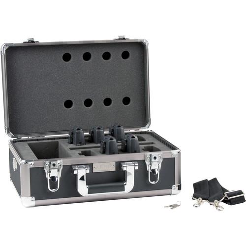 Listen Technologies LA-322 8-Unit Portable RF Product Carrying Case (Grey)