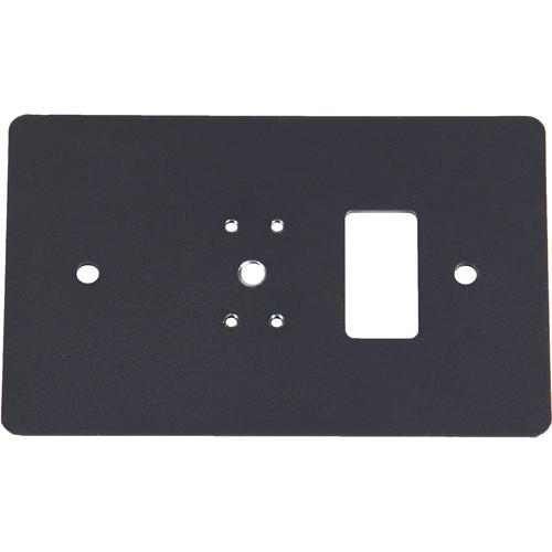 Listen Technologies Single Gang Wall-Box Mounting Plate (Gray)