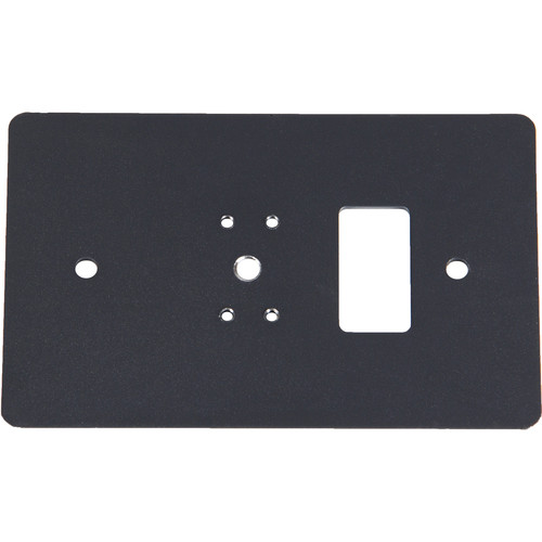 Listen Technologies Single Gang Wall-Box Mounting Plate (Gray)