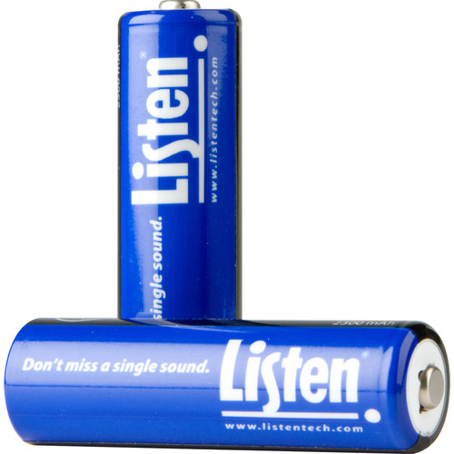 Listen Technologies LA-362 Rechargeable AA NiMH Batteries (Pack of 2)